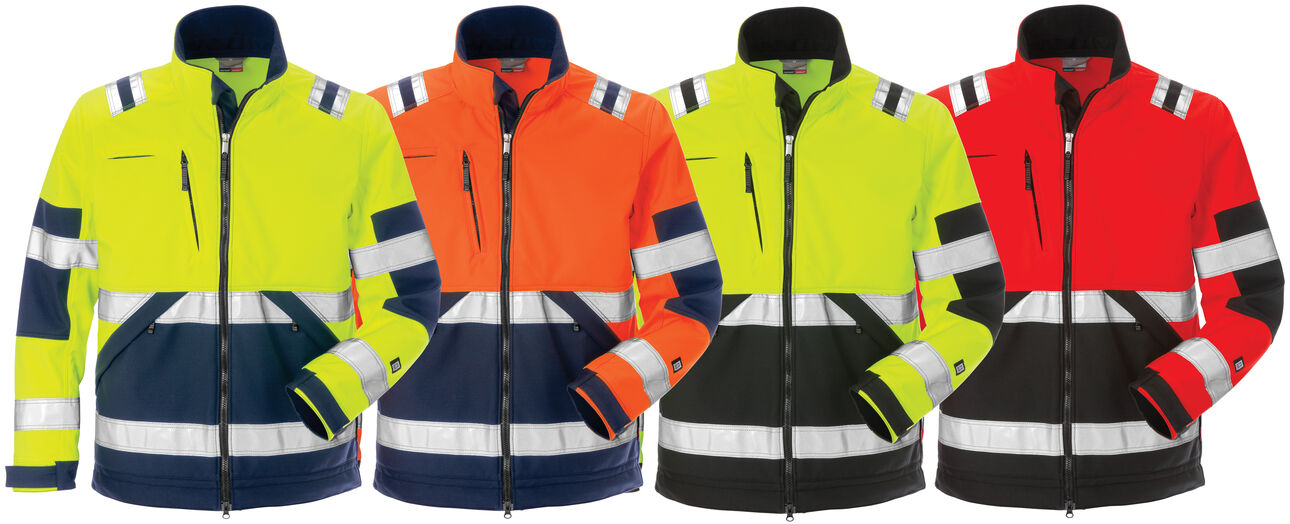 High vis softshell jacket 4083 WYH