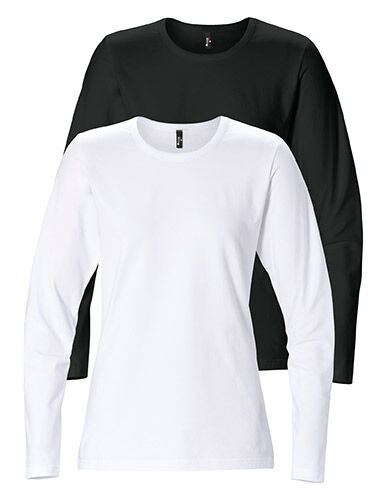 t-shirt long sleeve woman stretch tailored fit