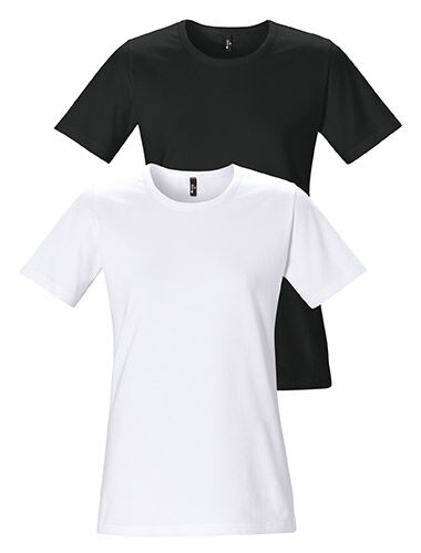 t-shirt woman o-neck short sleeve tailored fit