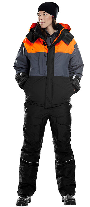 Airtech Winterjacke und Hose hält warm