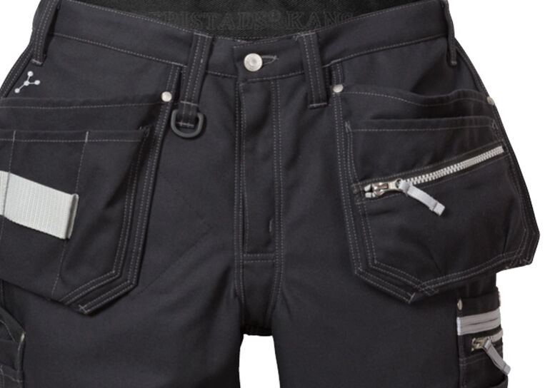 Gen Y craftsman trousers 2122 CYD, for men and women, in black, white, khaki, blue and grey