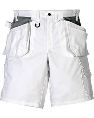 shorts katoen 257 BM in wit voor schilders en metselaars