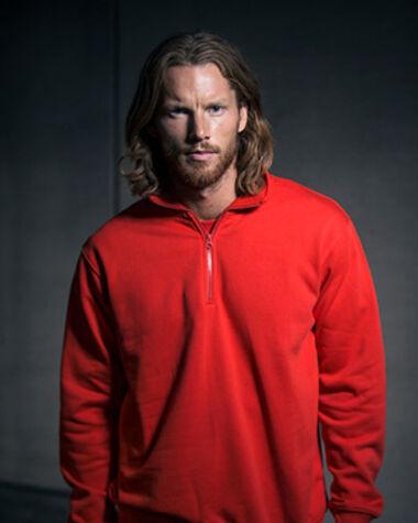 Sweatshirt Short Zip Code 1737
