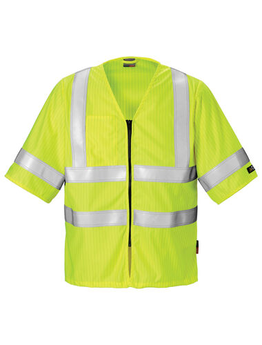 FLAME HIGH VIS WESTE KL. 3 5023 FHA