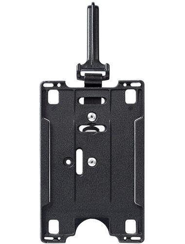 Id kortholder fastgjort med clips eller karabinehage