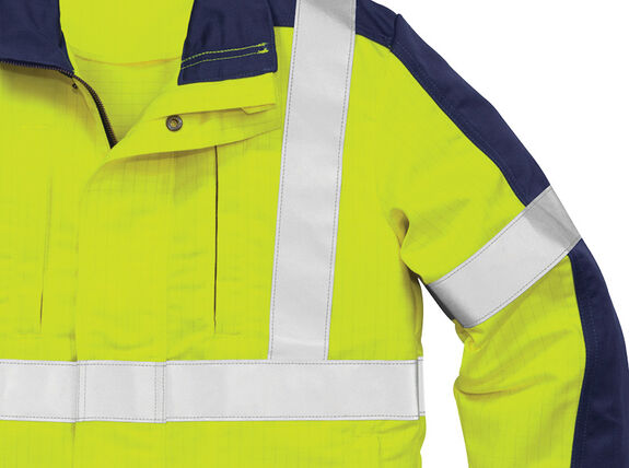 Flame high vis winter jacket cl 3 4852 FWA