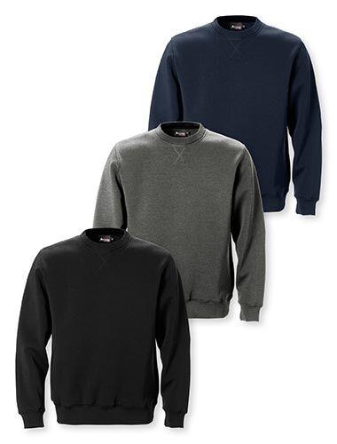 Acode sweatshirt med lækker blød bomuld på indersiden og polyester på ydersiden