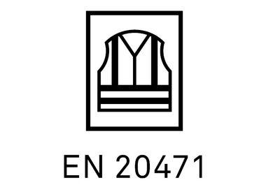 EN 20471 - certifiering förhöjd synlighet även efter ett antal tvättet
