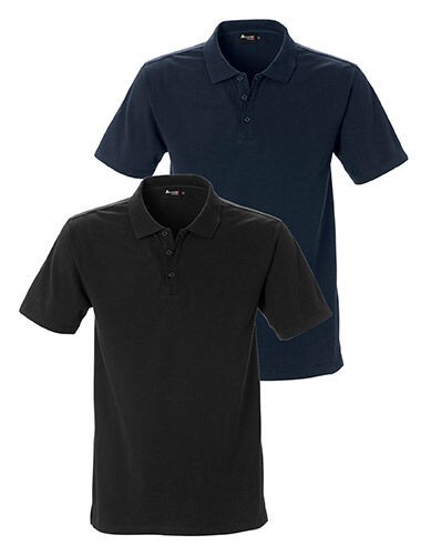 poloshirt stretch modern fit collar