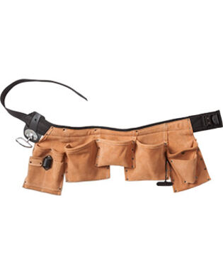 Snikki Toolbelt 9335 LTHR for electricians, metal workers and carpenters