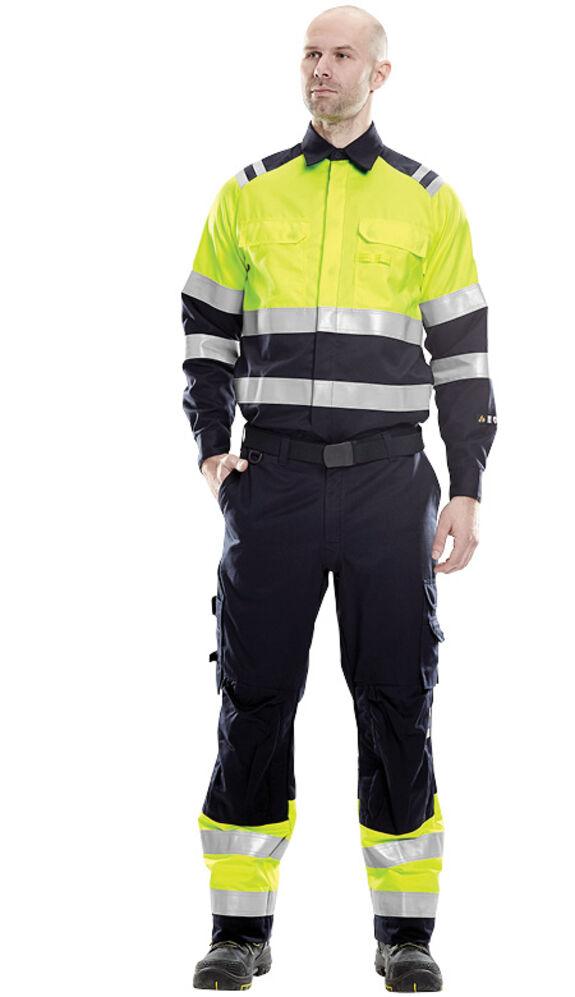 Fristads Kansas Multinorm werkkleding hogezichtbaarheid vlamvertragend normeringen gecertificeerd