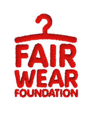 Kansas støtter logo fair wear foundation
