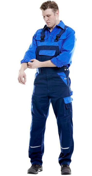 Icon Two tweekleurige werkkleding voor de industrie