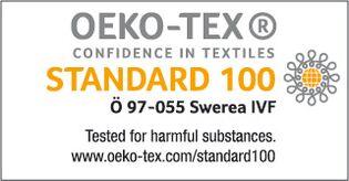 Acode og Kansas' produkter er godkendt af Oeko-tex