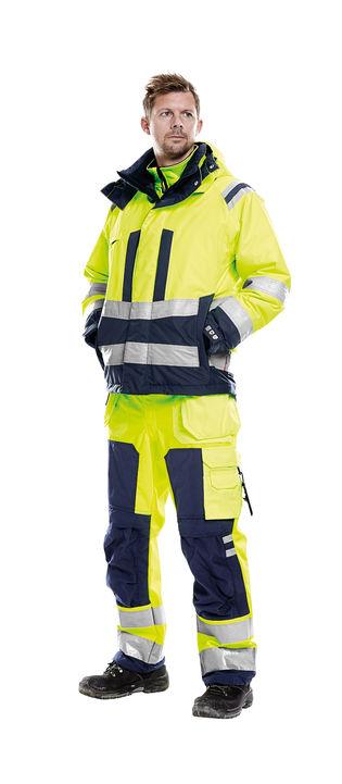 Airtech arbejdstøj med høj synlighed klasse 3