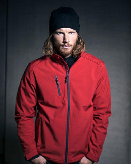 Acode jakke i rød fra Kansas arbejdstøj