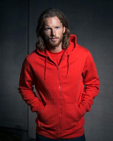 Sweatshirt With Hood And Zip Code 1736