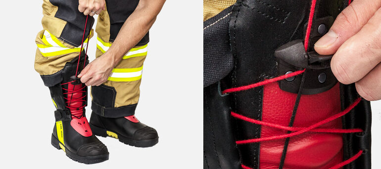 Fire-fighter boot Haix Fire Hero 2 Wenaas 112