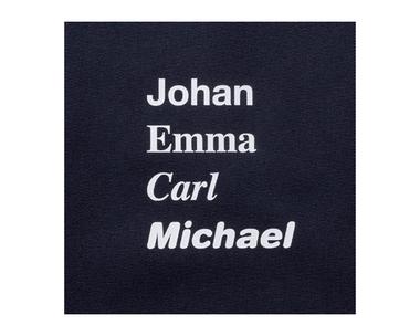 Märk dina kläder med en namndekal