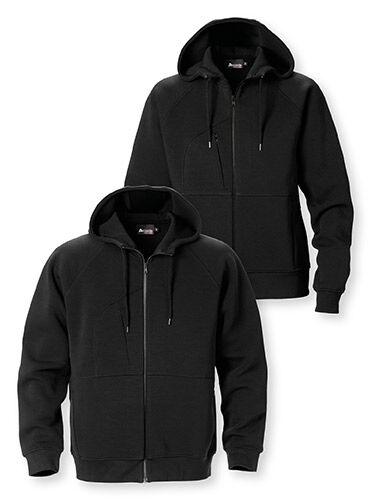 hoodie met ritssluiting sweatshirt twee steekzakken