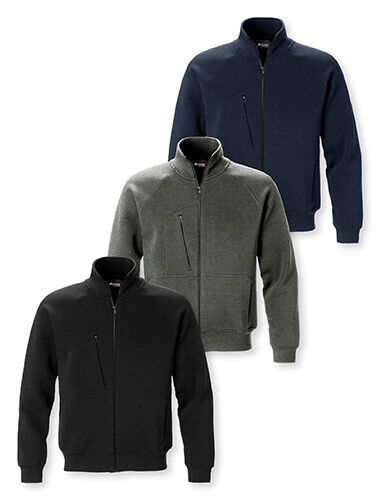 sweatshirt ritssluiting steekzakken met rits