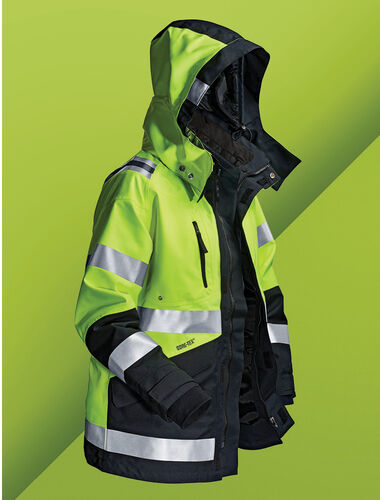 REACH THE HIGHEST SAFETY CLASS BY COMBINING GARMENTS