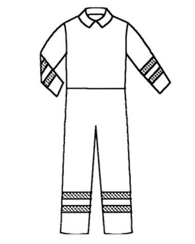 Två rader tunt arm och ben