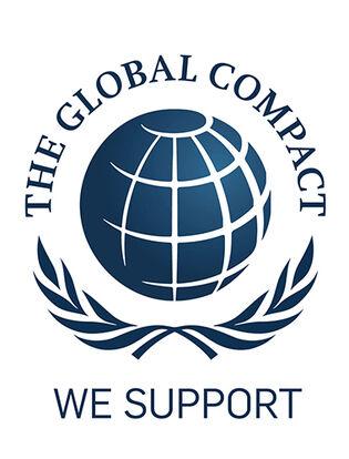 logo global compact united nations