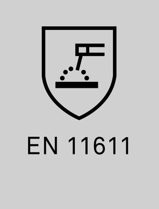 EN11611 skyddkläder vid svetsarbete