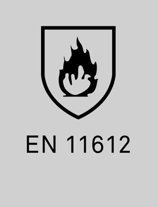 EN11612 skydd mot hetta och flamma