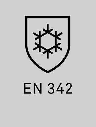 EN 342 certifiering på plagg som skyddar mot kyla