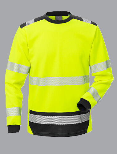 Fristads presents new long sleeve Hi-Vis t-shirt.