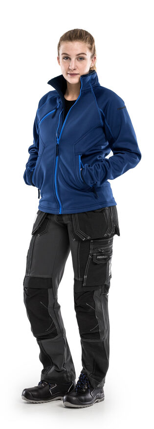 Image de modèle - Veste softshell stretch 4905 SSF - Pantalon d'artisan stretch femmes 2533 CYD