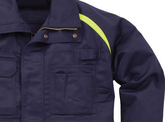 Flame veste d'hiver 4032 FLI, protection contre les flammes