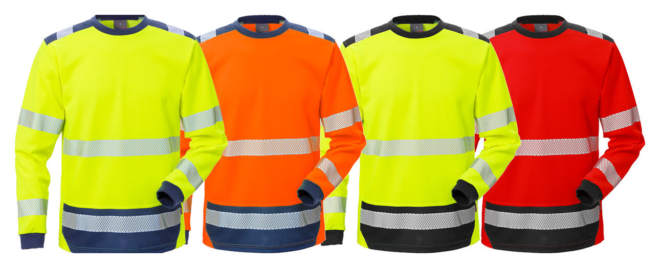 New high vis t-shirt long sleeve L/S 7724 TPR