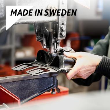 Gereedschapsriemen van Snikki worden gemaakt in Zweden