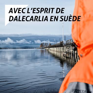 Avec l'esprit de Dalecarlia en Suède
