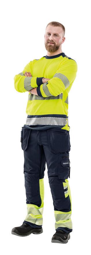 Fristads hoge zichtbaarheid werkkleding bouw constructie