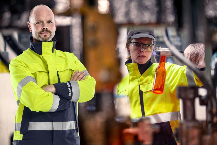 Vlamvertragende werkkleding voor heren en dames