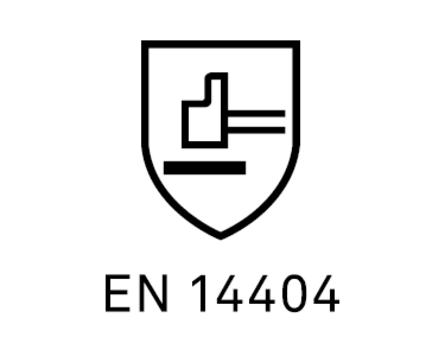 EN 14404 Certifiering för knäskydd fristads