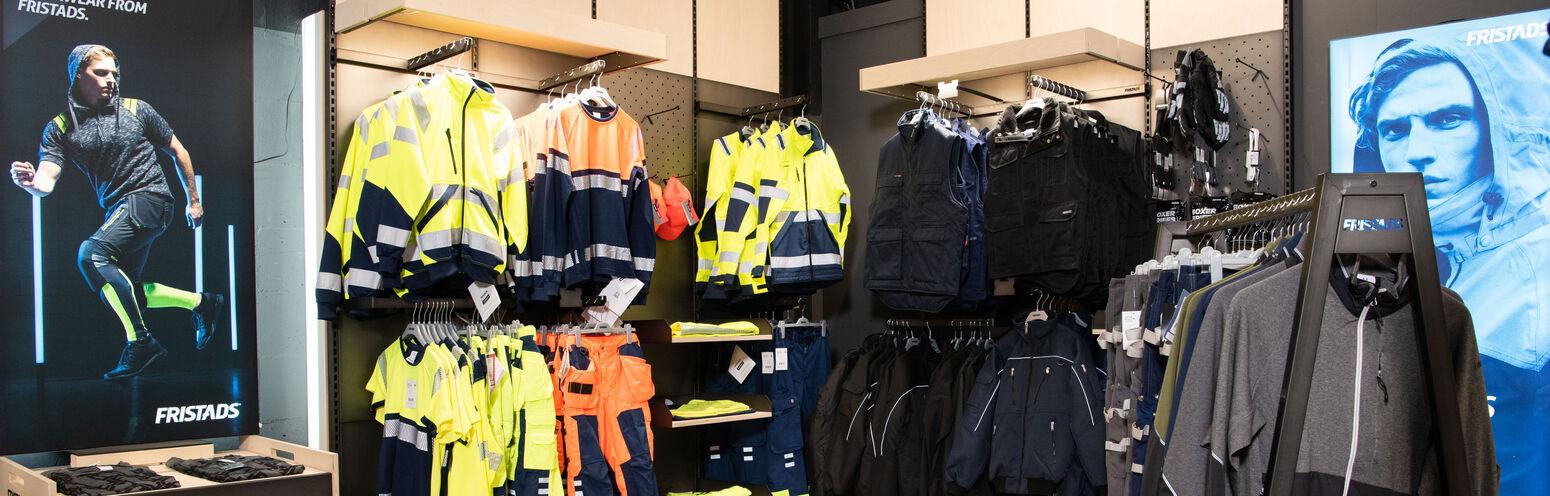 Mipa Bedrijfskleding met de eerste Fristads Conceptstore van de Benelux