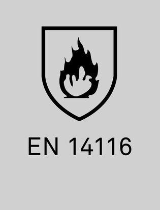 EN14116 skydd mot flamma