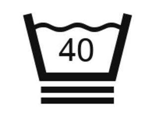 Extra skonsam tvätt i max 40ºC fristads