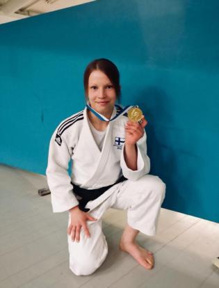Marianne Kosonen Judoka