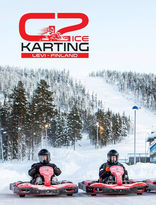 Icekarting Levi