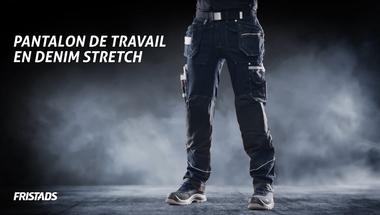 Pantalon d'artisan en denim stretch 2131 DCS