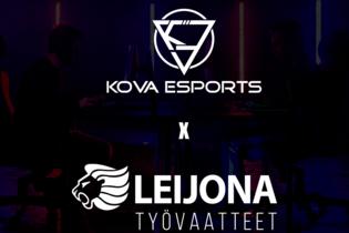 KOVA Esports - Leijona työvaatteet