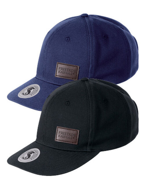 new baseball cap 9255 FAS® COTTON in black and blue
