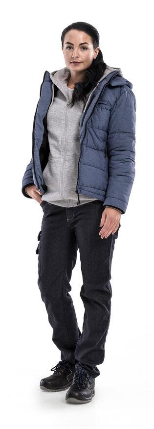 Image de modèle - Acode WindWear Veste d'hiver 4018 MEL - Pantalon d'artisan stretch femmes 2506 DCS