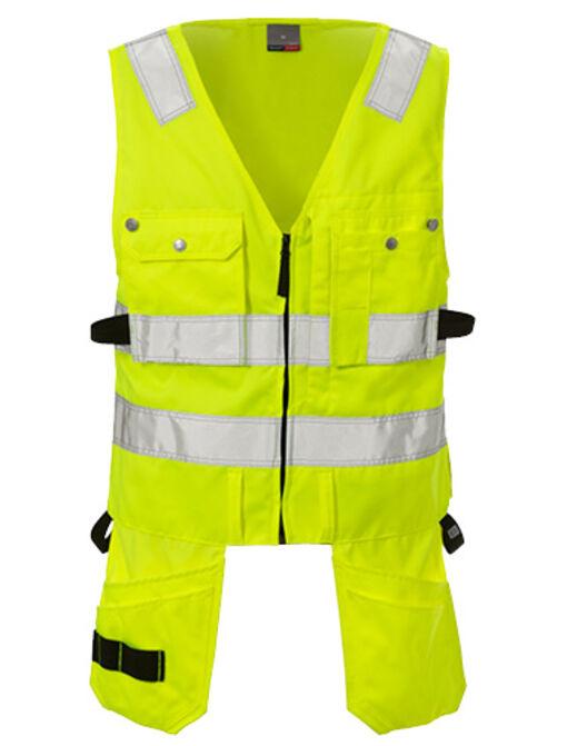 New high vis waistcoat CL 2 5003 PLU
